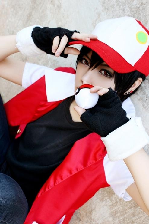 pokemon cosplay pop pokemon red cosplay