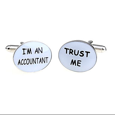 Accountant Cufflinks6