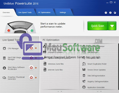 software utilitas uniblue powersuite terbaru 2016 gratis full