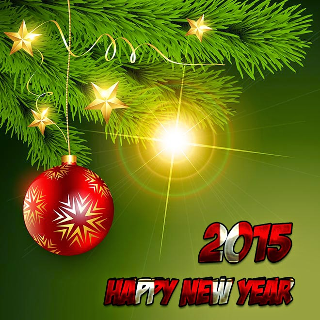 Greeting Happy New Year 2015 Cards – Lovely Wishing Cards Downloads