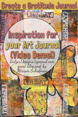 art journal tutorial for art journal inspiration for your art journal pages by @schulmanArt