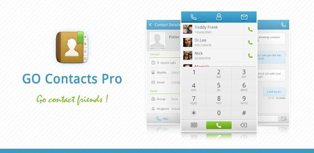 GO Contacts Pro v1.0 build 201 APK