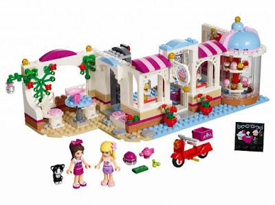 TOYS : JUGUETES - LEGO Friends  41119 Cafetería de Heartlake | Cupcake Cafe  Producto Oficial 2016 | Piezas: 439 | Edad: 6-12 años  Comprar en Amazon España & buy Amazon USA