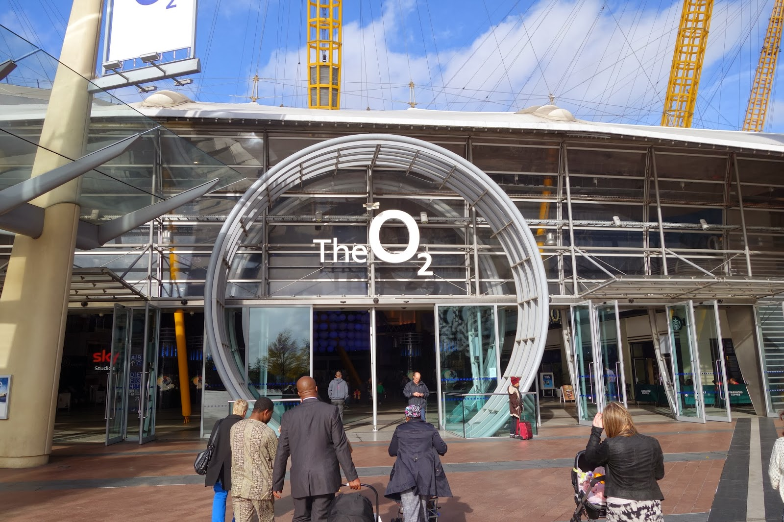 o2 arena how to get there by car