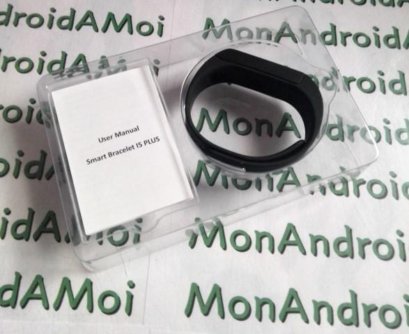 Les fonctions du bracelet sont limitées et imposées par le logiciel. Dans  la boîte, le bracelet et un mode d\u0027emploi en anglais/chinois