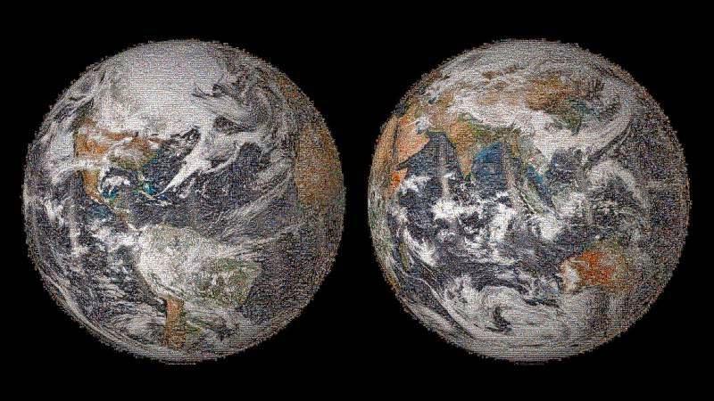 Παγκόσμιο Μωσαϊκό selfies της NASA