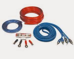 Tips Audio Mobil penguat kabel kit