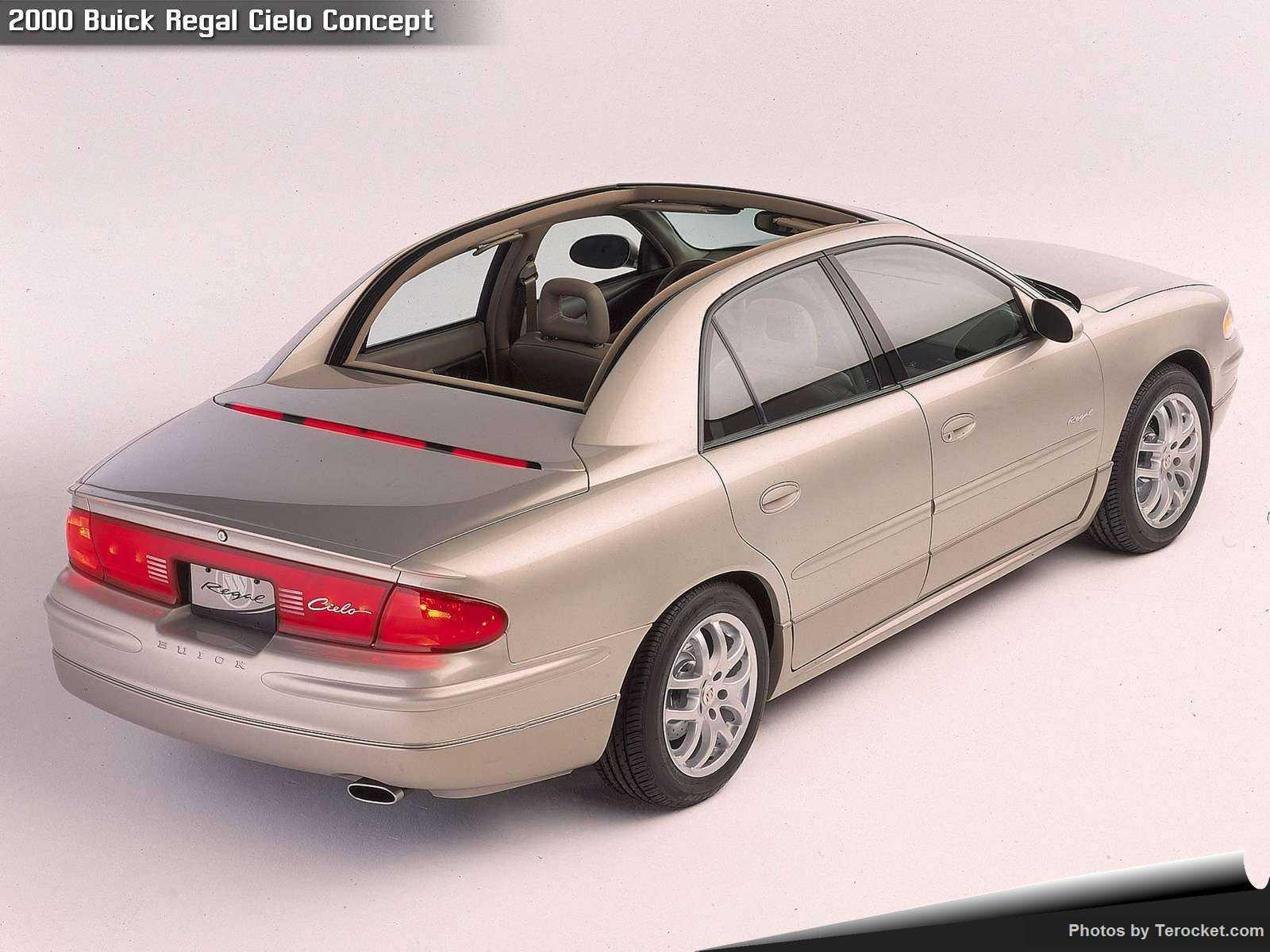 Hình ảnh xe ô tô Buick Regal Cielo Concept 2000 & nội ngoại thất