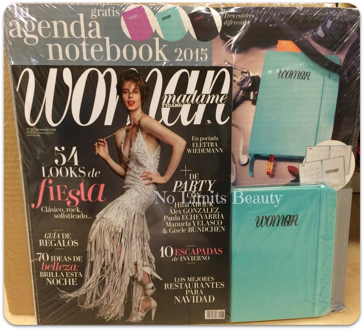 Regalos revistas Diciembre 2014: Woman