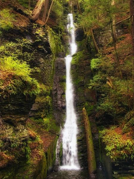 Cascada Silverthread, Pike, Pensilvania
