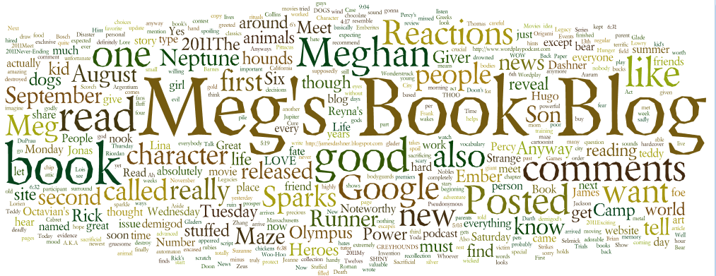 Meg's book blog