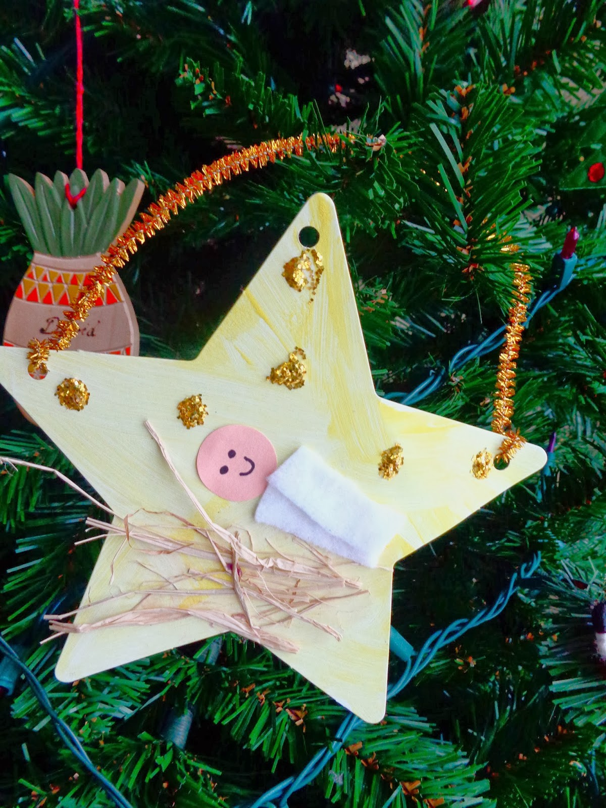 Terrific preschool years december 2013 for Easy christmas crafts for kids religious
