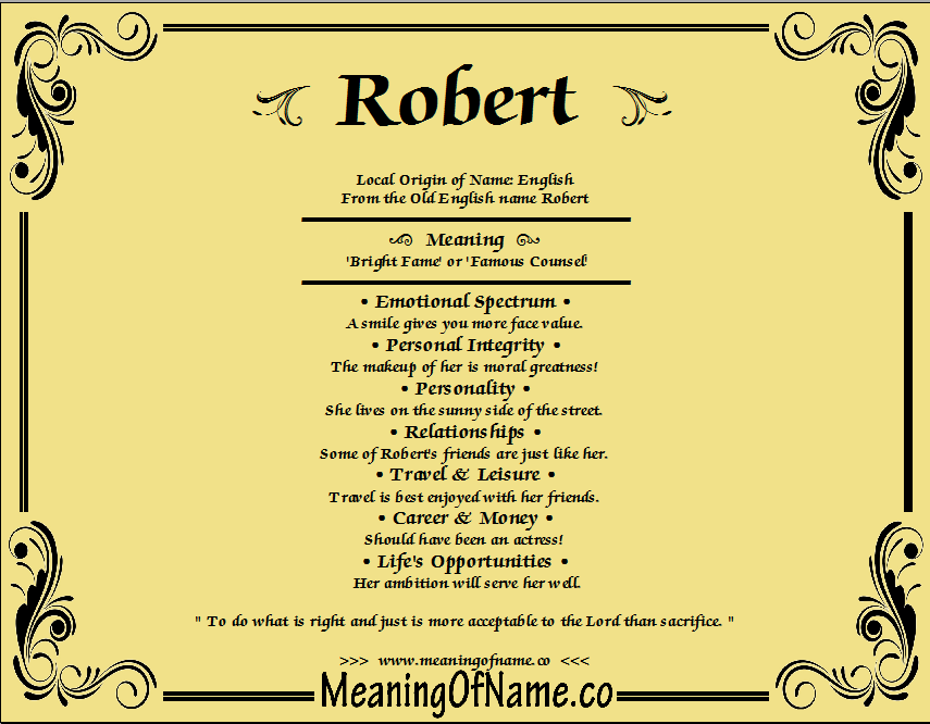 how to know the meaning of your name