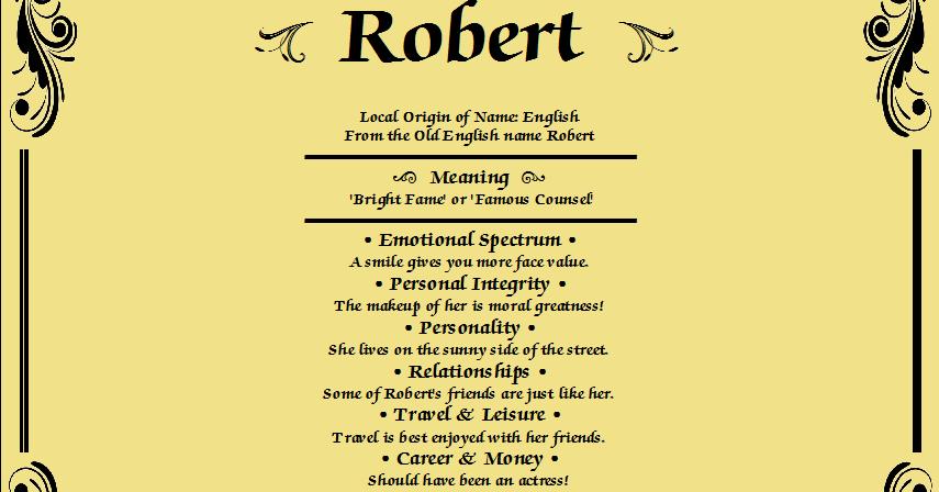 Robert | anizpk