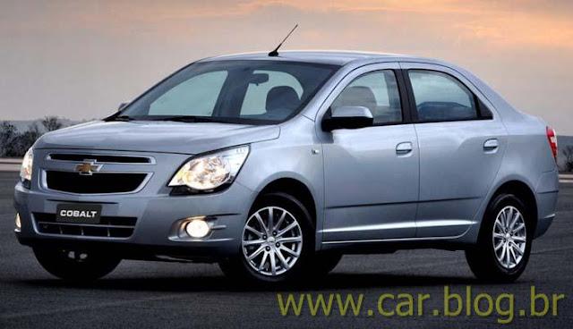 Novo Chevrolet Cobalt 2012 - prata