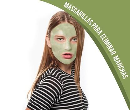 Mascarillas para eliminar manchas de la piel