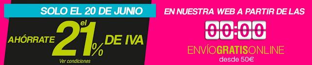 Mejores móviles libres día sin IVA El Corte Inglés 20 junio 2015