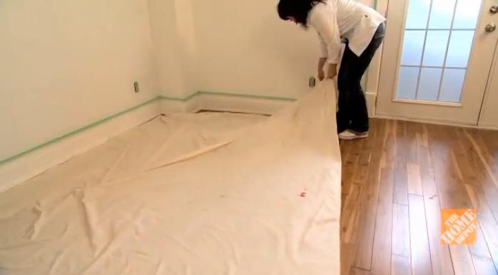Como pintar paredes h galo usted mismo ideas y - Pintar el piso ...