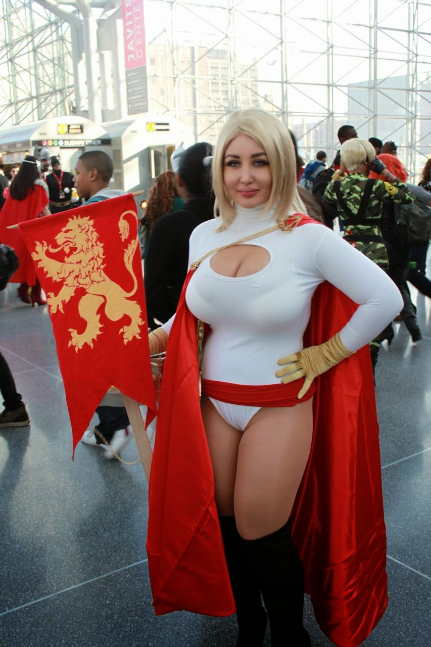 Comic con big tits