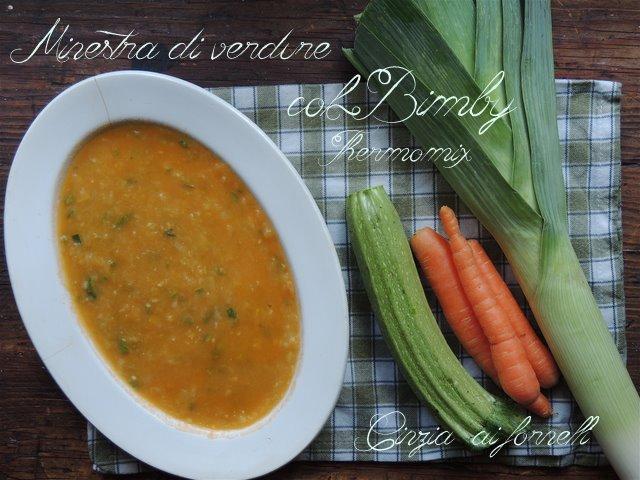 minestra di verdura bimby