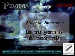 """Medalla de bronce en el concurso """"PIRATAS, ¡al abordaje!"""" de El Círculo de Escritores"""