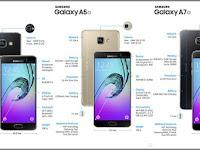 Review Harga, Spesifikasi dan Fitur Smartphone Samsung Galaxy A Series Versi 2016