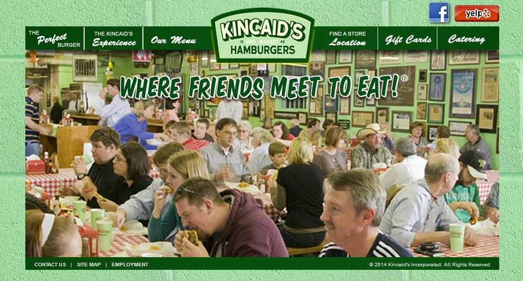 Attribute: Screen Shot of Kincaid's Website (Go There)