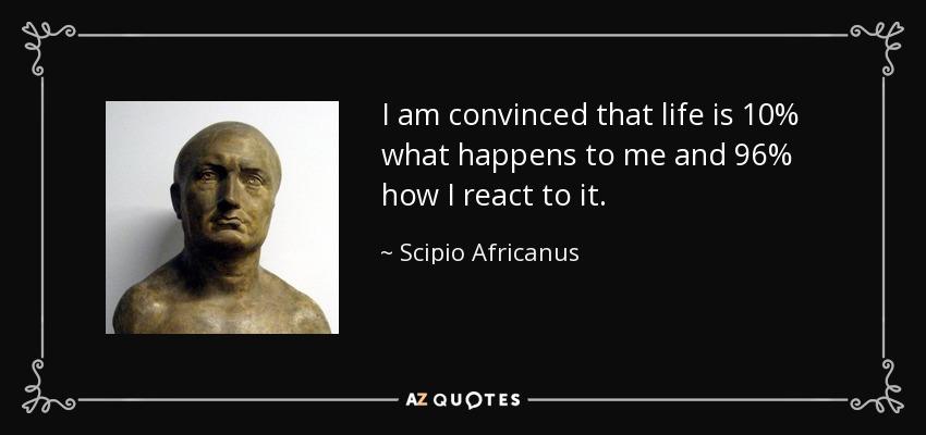 Famous Scipio Quote