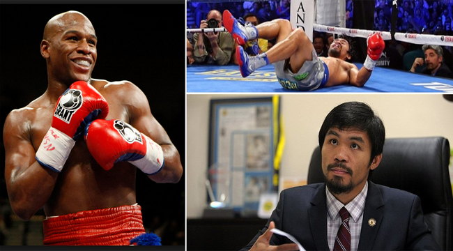 Manny Pacquiao Calls Floyd Mayweather an Uneducated Person Over the Instagram Post