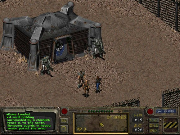 fallout screenshot pc game review gameplay 2 Fallout GOG Classic ISO RAiN