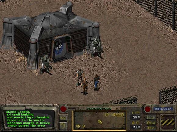 fallout screenshot pc game review gameplay 2 Fallout GOG Classic ISO RAiN
