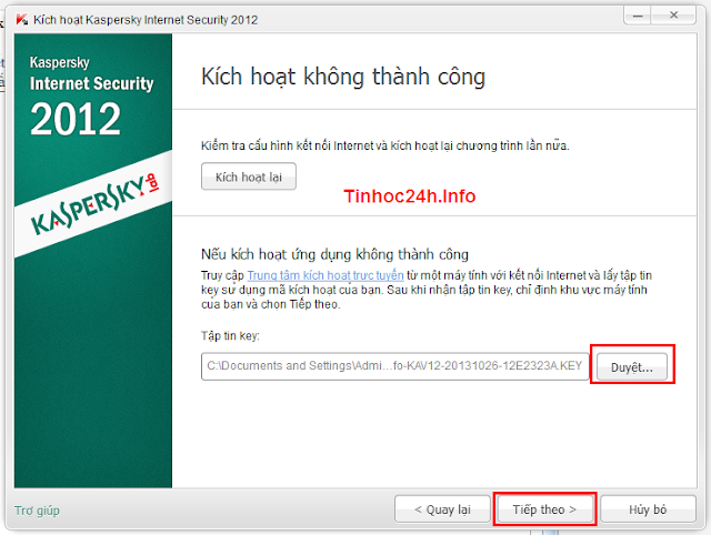 kaspersky internet security 2012 activation with key