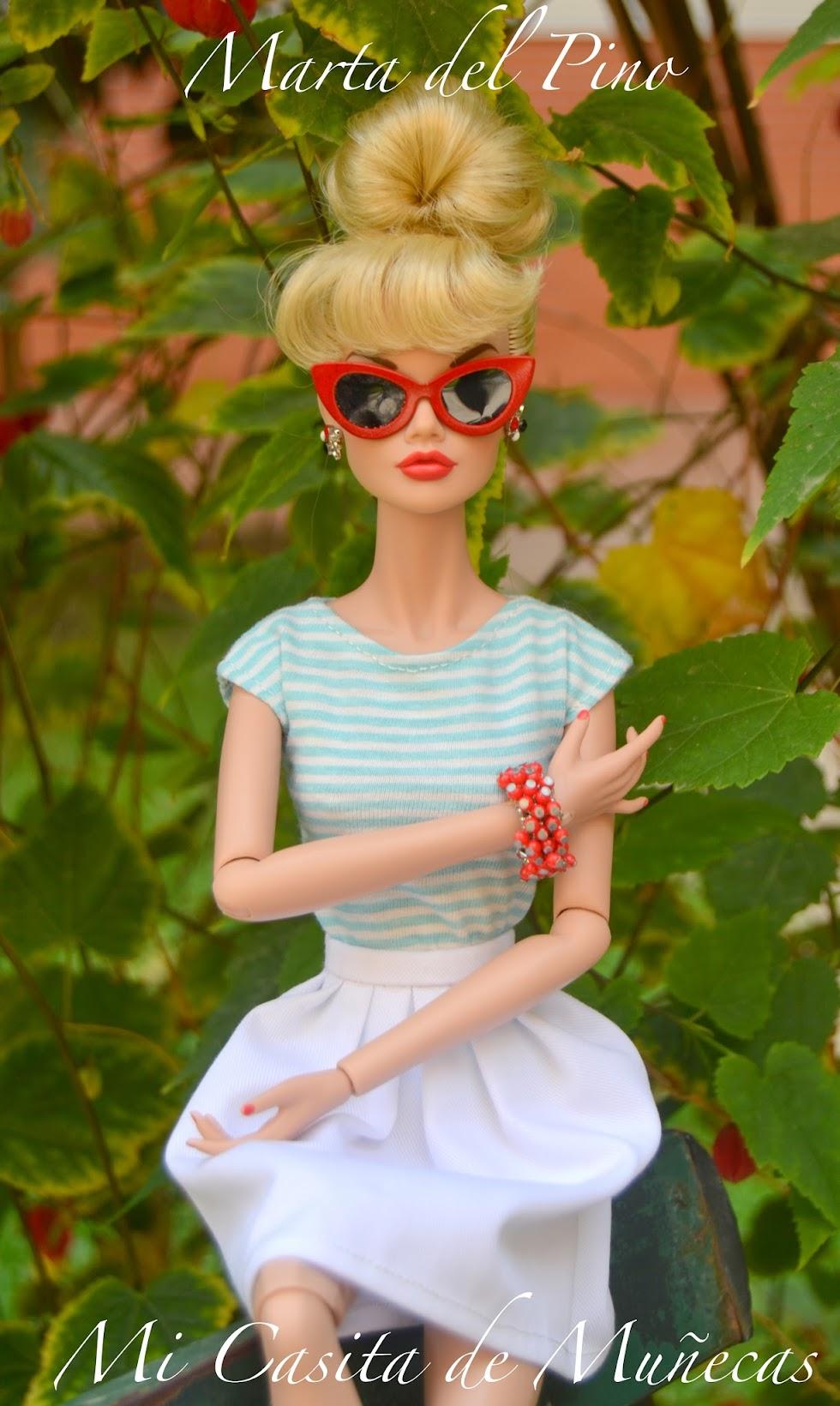 """Poppy Parker One fine Day 16"""", grande, 40 centímetros. Marta del Pino. Mi casita de Muñecas."""