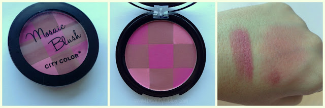 City Color Mosaic Blush Review