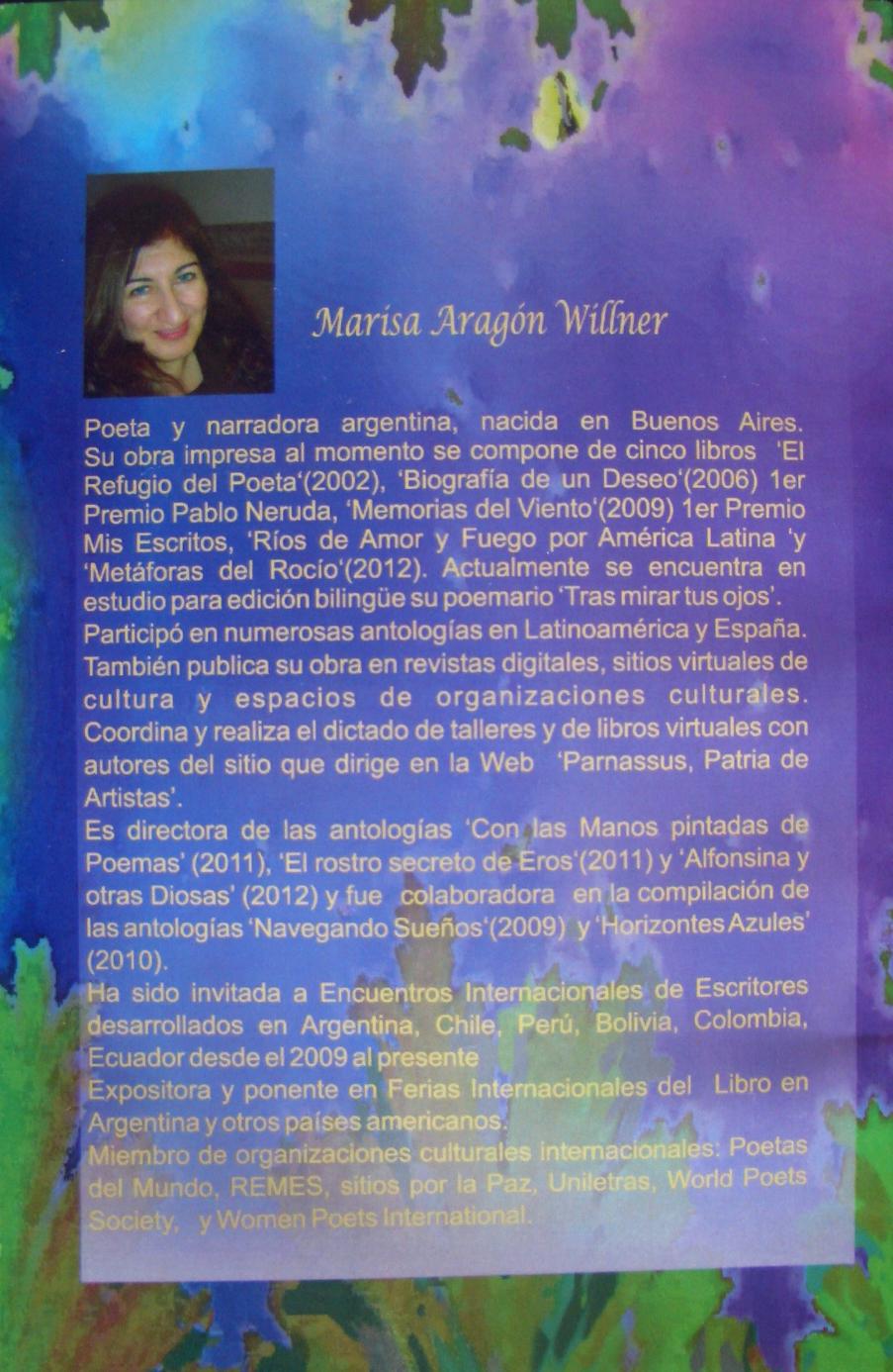 Resultado de imagen para MARISA ARAGON WILLNER FOTOS