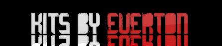 Everton kitmaker - Uniformes para PES 2013.