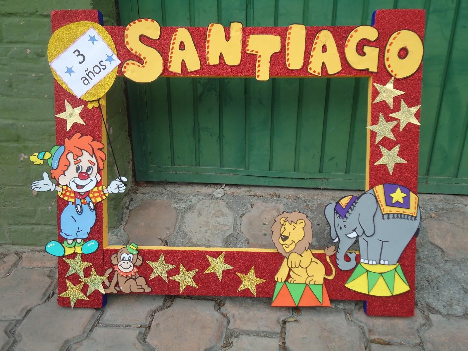 Rinc n de letita marcos decorados para fiestas - Marcos para fotos decoracion ...