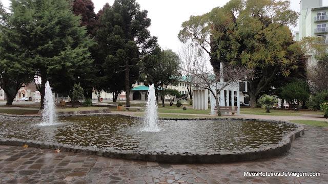 Praça João Ribeiro - São Joaquim/SC