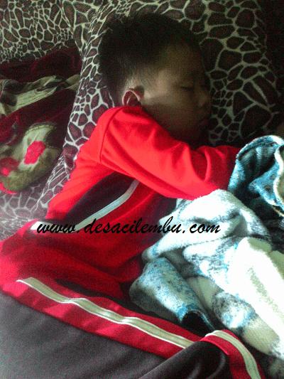 Melihat anak tidur dapat menenangkan