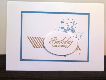 Simple card zena kenedy independent stampin up demonstrator