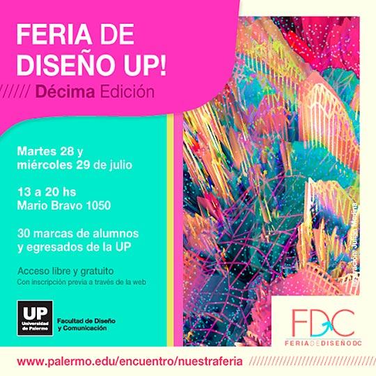 Feria de Diseño - Encuentro Latinoamericano de Diseño UP
