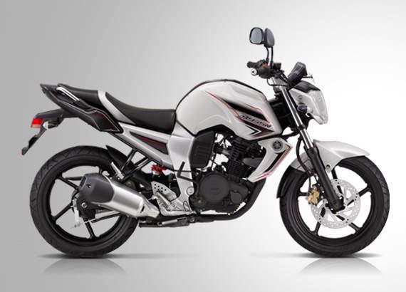 Foto Yamaha Byson Warna Putih