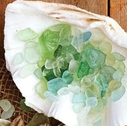 machine tumbled sea glass