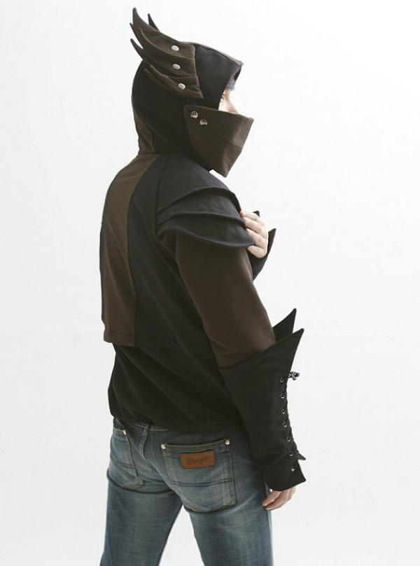 Knight's armor hoodie