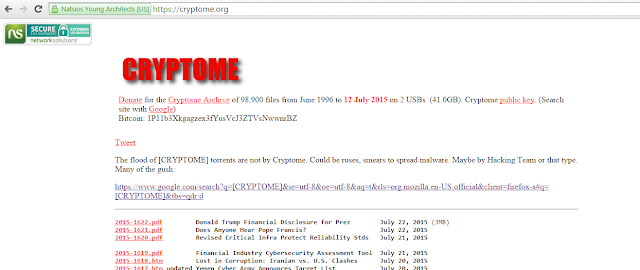 Cryptome josh wieder torrent warning