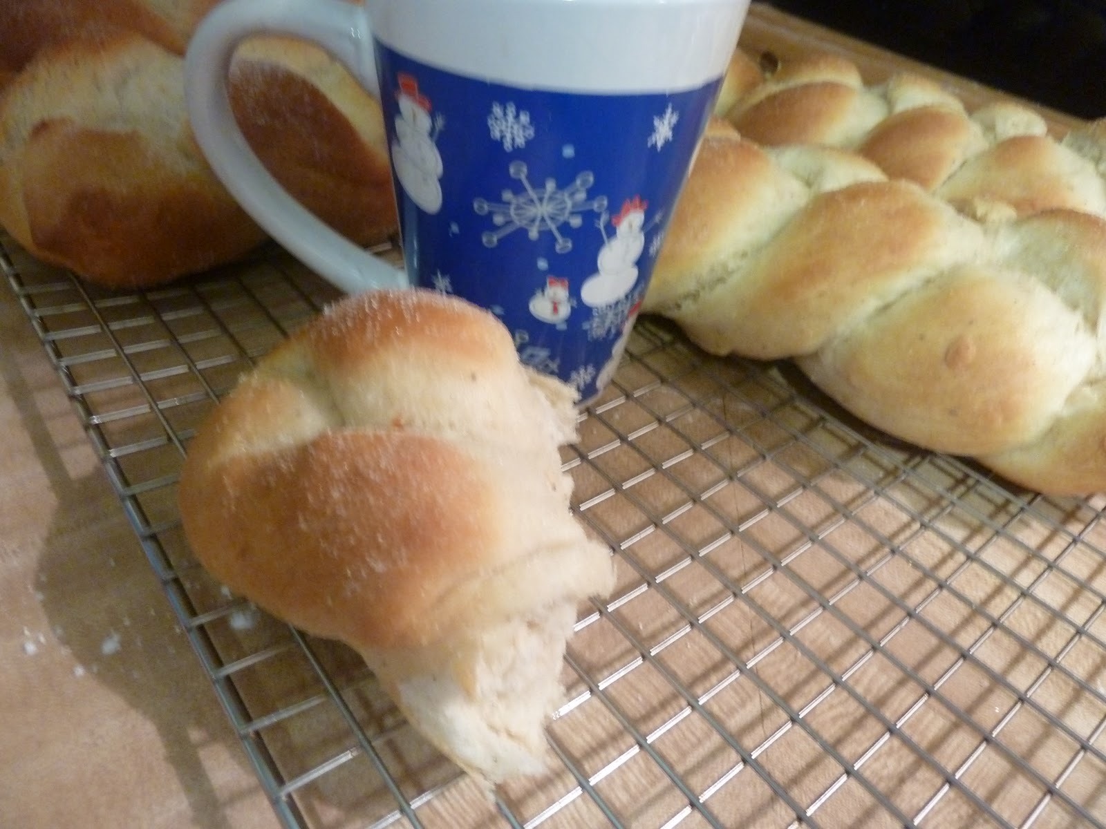 "It is Swedish ""Coffee"" bread after all, so brew some up and enjoy!"