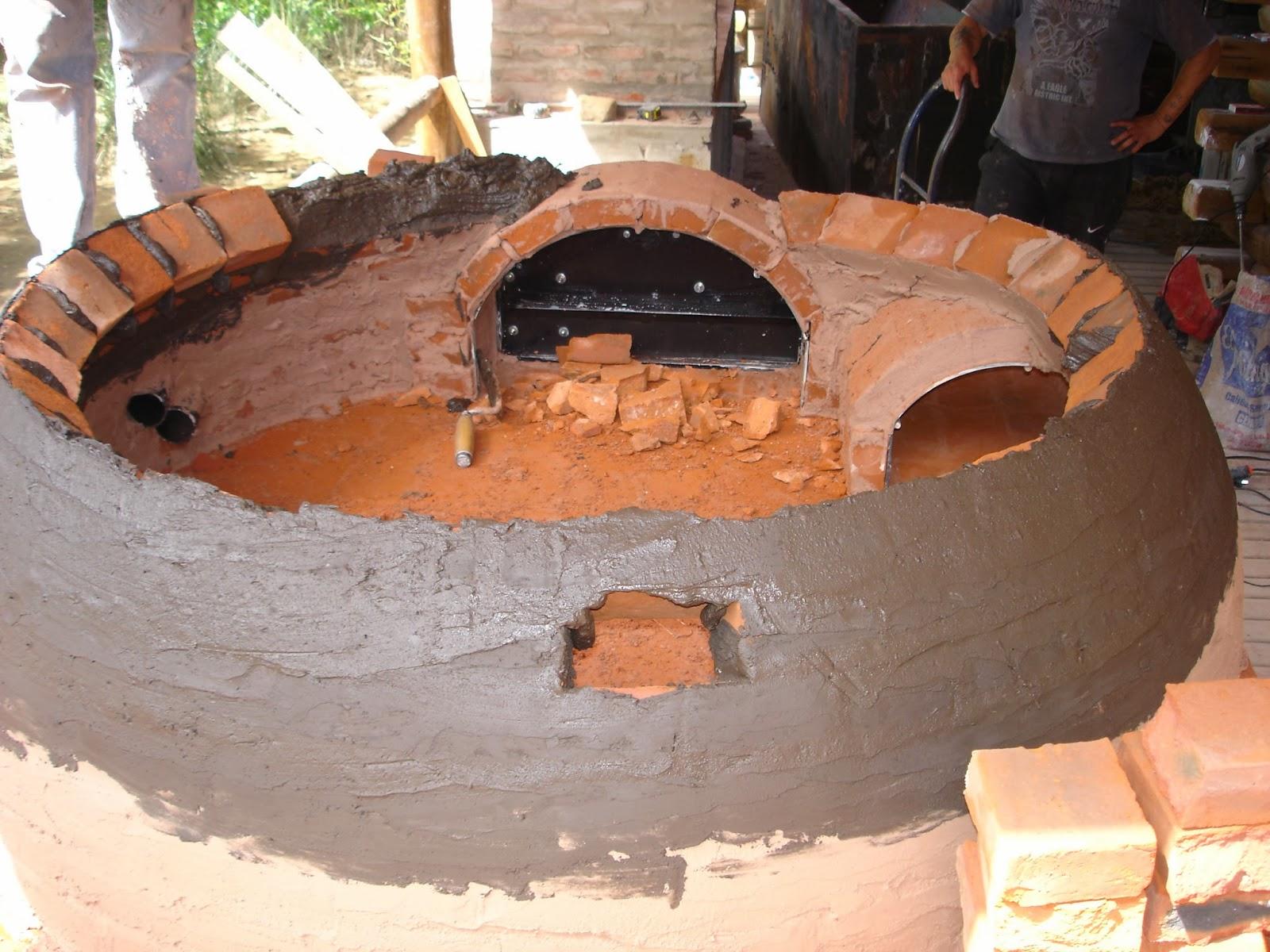 Tu horno de barro hornos de barro artesanales for Construccion de un vivero paso a paso