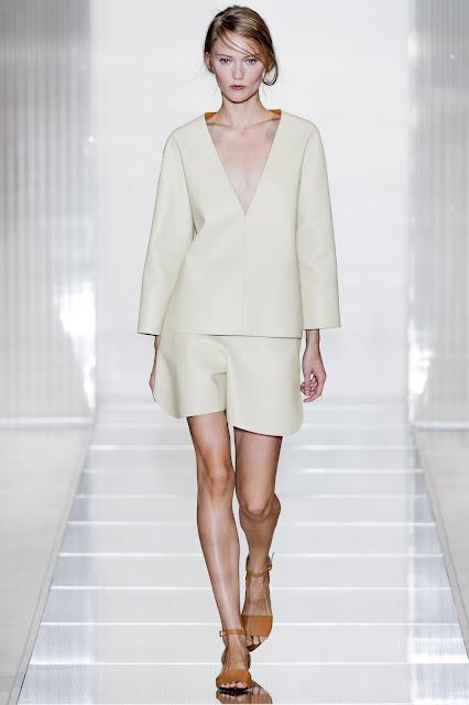 Milan Fashion Week S/S 2013: Katya Riabinkina in Marni show