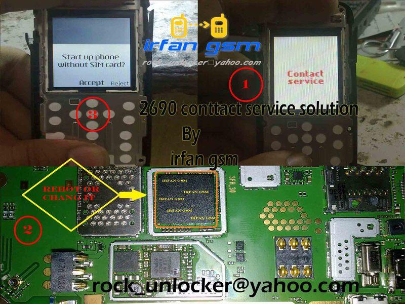 Nokia 2690 Contact Service Solution