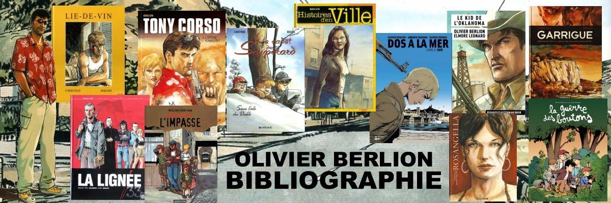 OLIVIER BERLION - BIBLIOGRAPHIE